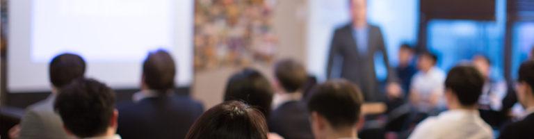 blog header - unfocused lecture