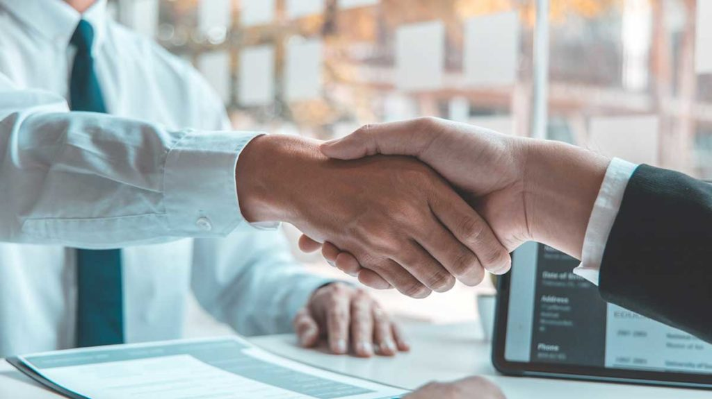 Shaking hands –what we do well